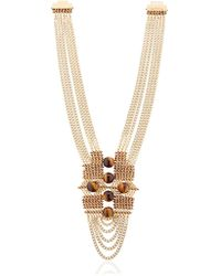 Lucia Odescalchi | Chapter Two Tiger's Eye Necklace | Lyst