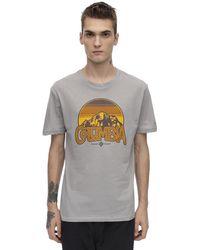 Columbia Basin Butte コットンブレンドtシャツ - グレー