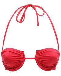 """Fisch Haut De Bikini À Armature """"Coquillage"""" - Rouge"""