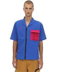 Nike Nrg Acg Nylon Blend Shirt - Blue