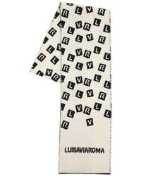 LUISAVIAROMA Шарф Из Шерсти С Логотипом Lvr - Многоцветный