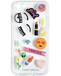 Chiara Ferragni Iphone 7 Plus-cover - Mehrfarbig