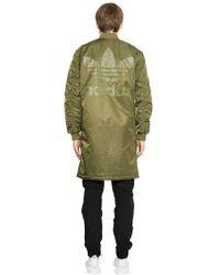 adidas Originals - Sst Hzo Nylon Bomber Coat - Lyst