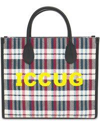 Gucci Iccug キャンバストートバッグ - マルチカラー