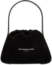Alexander Wang Ryan スエードレザーバッグ - ブラック