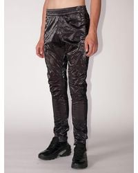 1017 ALYX 9SM Shiny Nylon Biker Trousers - Black