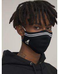 Kangol Gesichtsmaske Mit Logo - Schwarz