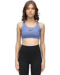 1017 ALYX 9SM Nike Collab Printed Sports Bra - Blue
