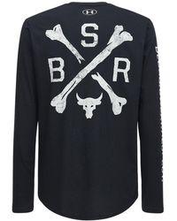 """Under Armour T-shirt """"ua Project Rock Bsr"""" - Schwarz"""