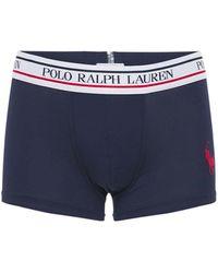 Polo Ralph Lauren Трусы-боксеры Из Хлопка - Синий