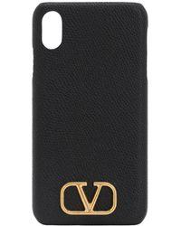 Valentino Garavani - Valentino Garavani グレインレザー Iphone Xs Max ケース - Lyst