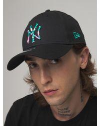 KTZ Бейсбольная Кепка Infill 9forty Ny Yankees - Черный