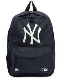KTZ Ny Yankees Mlb Stadium Backpack - Blue