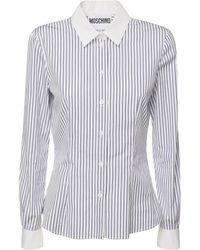 Moschino Рубашка Из Хлопка - Многоцветный
