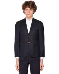 Thom Browne - Single Breasted 120s Wool Twill Jacket - Lyst
