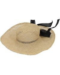 Scha Summertime Seagrass Straw Hat - Multicolor