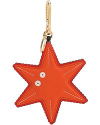 Loewe Starfish Leather Charm - Multicolour