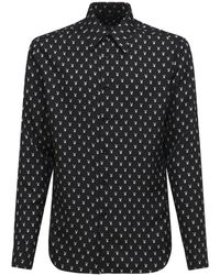 Amiri Micro Playboy コットンシャツ - ブラック