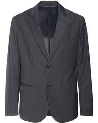 Armani Exchange - シングルブレステッドジャケット - Lyst