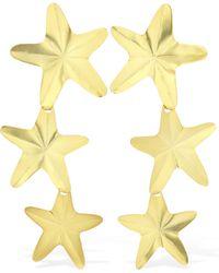 Mercedes Salazar Starfish Clip-on Earrings - Metallic