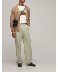 Gucci Шерстяные Брюки - Многоцветный