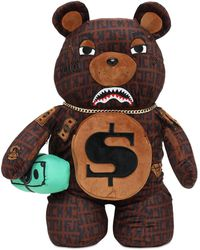 "Sprayground Mochila ""offended Money Bear"" - Marrón"