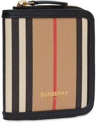 Burberry Бумажник Allington Icon - Черный