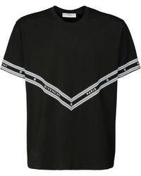 Givenchy T-shirt In Cotone Con Logo - Nero