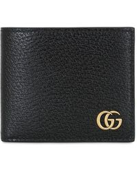 Gucci - Gg Marmont Leather Classic Wallet - Lyst