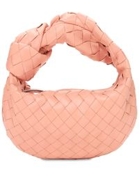 Bottega Veneta Mini Bv Jodie Intrecciato Leather Bag - Pink