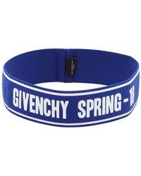 Givenchy - Logo Terrycloth Sport Headband - Lyst