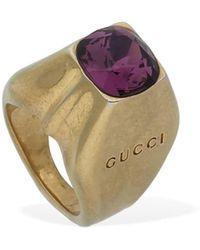 Gucci Ring Für Den Kleinen Finger - Mehrfarbig