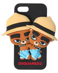 DSquared² - Bears Silicon Iphone 7 Cover - Lyst