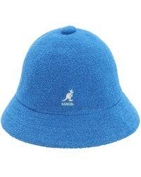 Kangol Bermuda Casual Bucket Hat - Blue
