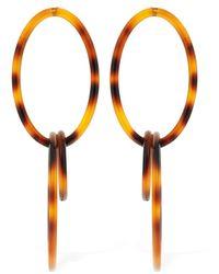 """Cult Gaia Ohhringe """"trio"""" - Orange"""