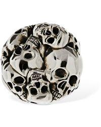 Alexander McQueen - Skull リング - Lyst