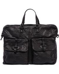 Campomaggi - Leather Bag W/ Vintage Effect - Lyst