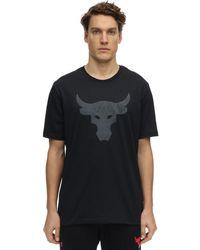 Under Armour Project Rock Brahma Bull T-shirt - Black