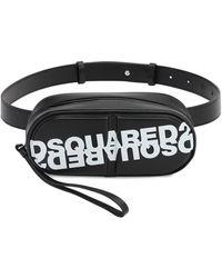 DSquared² Pills レザーベルトバッグ - ブラック