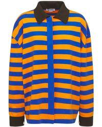 Sunnei コットンジャージーシャツ - オレンジ