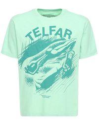 Telfar コットンtシャツ - ブルー