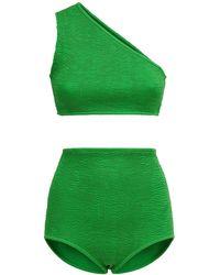 Bottega Veneta Бикини Из Лайкры - Зеленый