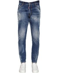 "DSquared² 16.5cm Jeans Aus Baumwolldenim ""classic Kenny"" - Blau"
