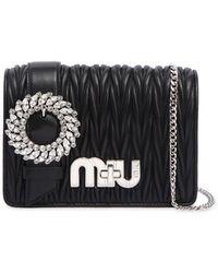 Miu Miu   My Miu Quilted Leather Shoulder Bag   Lyst