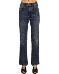 Givenchy Washed Cotton Denim Jeans - Blue