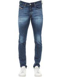 """DIESEL 16cm Jeans Aus Denim """"sleenker-x"""" - Blau"""