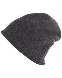 Scha - Taiga Zip Long Wool Beanie Hat - Lyst