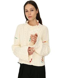JW Anderson - Pull-Over Court En Coton - Lyst