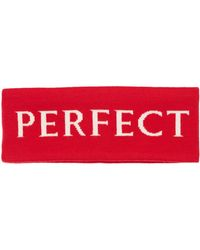 Perfect Moment Stirnband Aus Wolle - Rot