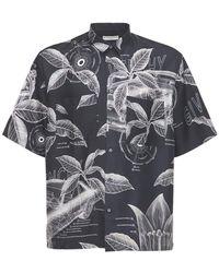 Givenchy - Floral シルクシャツ - Lyst